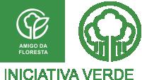 logotipo amigo da floresta
