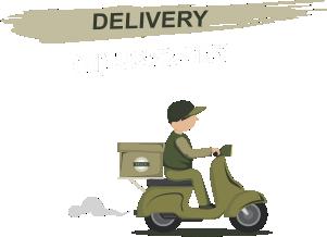 arte de motoboy delivey