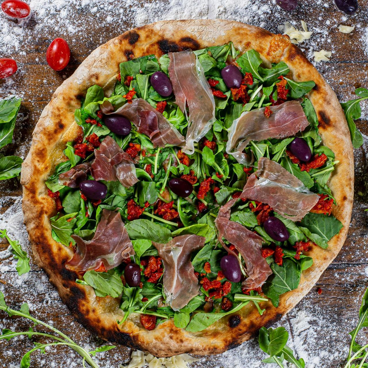 pizza de parma da brassi pizzaria