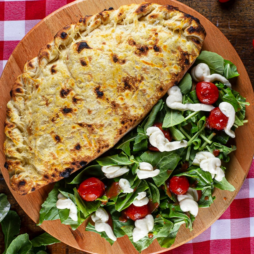 pizza feita para a entrega